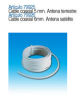 Cable coaxial 6 mm antena satelite 79926